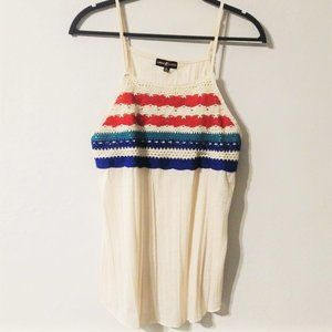 Almost Famous Knit Tank Top NWT